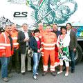 Besuch bei der Müllabfuhr mit Peter Kaiser im Mai 2011
