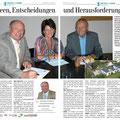 Zeitungsartikel Ines Obex-Mischitz
