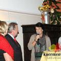 Vernissage Hedwig Sablatnig am 31. Oktober 2012