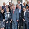 Gruppenbild mit Bundespräsidentschafts-Kandidat Rudolf Hundstorfer am 10. März 2016