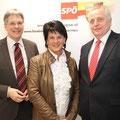 Mit Peter Kaiser und Sozialminister Rudolf Hundsdorfer 28. Jänner 2013
