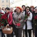 Brot und Rosen, Frauentag 2015 im März 2015