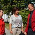 Im Gespräch mit Klaus Seelhofer (GF mobiCura) und Claudia Doujak (Pflegedienstleitung mobiCura)