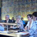 Qualität der Pflege im Fokus. Mit Bundesratspräsidentin Sonja Ledl-Rossmann im Sozialausschuss des Kärntner Landtags im Juni 2017