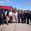 Fahrzeugweihe beim Feuerwehrfest der FF Ferlach im Juli 2017