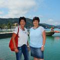 Mit Stadträtin Ruth Feistritzer beim Wassersicherheitstag am 22. August 2015 im Klagenfurter Strandbad