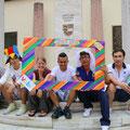 Junge Leute im Rahmen der Vobis Summer School im Juni 2014 Foto: Krammer