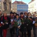 Internationaler Weltfrauentag im März 2014