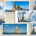 | магниты |  открытки | авторская работа. фото и дизайн © marka
