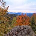 Bayerischer Herbst auf dem Riederinfels