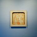 """tOG Nr. C.U.F. 025 - Künstler C.U. FRANK - Werk Titel """"Frau F. - mehrfach (25 teilig,) Frau F. Mehrfach No.14"""", 2005, Acryl auf Jute auf Keilrahmen - 60 x 60 x 2,8cm  (c) tOG-Düsseldorf"""