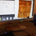 die Oberflächenbilder werden zusammengefügt...