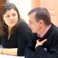 Florence a animé la soirée et Dominique