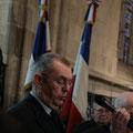 Le colonel Duprez, délégué départemental du Souvenir français
