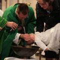 Baptême au Nom du Père, du Fils et du Saint Esprit