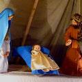 L'enfant Jésus y est en bonne place