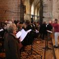 ... et la chorale ont animé la messe de leurs chants