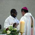 Un au-revoir ému et chaleureux au P. Charles Soro, qui rentre début août dans son pays, le Burkina-Faso
