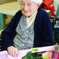 Madame Cormier a eu 99 ans le 2 avril