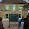 Arrivée chez Pascal et Sylvaine (et le chat) à Mesnil-Haton
