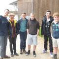 Quelques-uns des jeunes présents