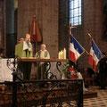 Concélébrait avec le P. Thierry, le Père André Cousin, ami des PP. Ferré et Poulain
