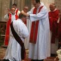 ... le P. Pierre-Yves Emile, dernier prêtre ordonné pour le diocèse de Séez