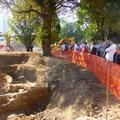L'archéologue en charge du site a passionné son auditoire