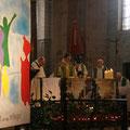 Pendant la prière eucharistique