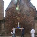 Arrivée à la chapelle Notre-Dame de Lorette