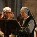 et par les Soeurs Catherine de la Communauté de la Nouvelle Alliance et Ritalba des Petites Soeurs de Sainte Thérèse (maison famille Martin)