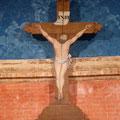 Le Christ a été peint en trompe-l'oeil