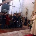 Mot d'accueil du P. Gabriel Villemain, curé de la paroisse
