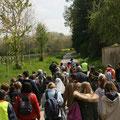 Une quarantaine de marcheurs au départ