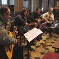 Joseph Lulek et son groupe ont chanté des chants de Noël