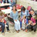Les paroissiens étaient venus en famille pour ce temps de convivialité et de détente