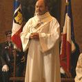 Philippe Auffret, diacre à La Ferté-Macé, est également un ancien gendarme à la retraite