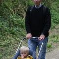 poussette (Philippe avec son fils)