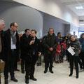 ... et de remerciement de M. Joaquim Pueyo, maire d'Alençon
