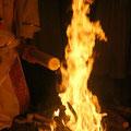 ... puis allumé au feu nouveau