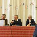 suivi de trois conférenciers : Guy Fournier, Soeurs Reine Claude et Grégoria de la Miséricorde