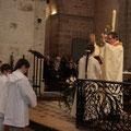 Bénédiction finale des baptisés