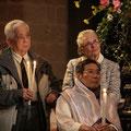 Lucien entouré de son parrain vietnamien Edgar et de sa Marraine Ginette