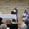 Pendant l'eucharistie