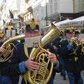 Andreas Pasda war in Wien, Österreich: »Wenn du am Sonntagvormittag zufällig über den 'Graben' kommst,  kann es schon mal passieren, dass dir der Marsch geblasen wird.«
