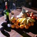Ralf Bartz war auf dem Bauernmarkt in Mazo, La Palma: »Kein normierten Bananen und keine mit Nährkonzentraten gedopten Tomaten. Hier gibt's noch alles frisch vom Feld.«