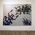Alles anders - Käferleben 7, 2008, Arcyl auf Leinwand, 150 x 200 cm