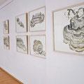 Sichtbare Zeichen, 2010, Ei-Tempera auf Papier, 50 x 65 cm
