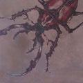 Alles anders - Käferleben 6, 2008, Arcyl auf Leinwand, 150 x 150 cm