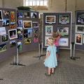 Ausstellung der Bilder